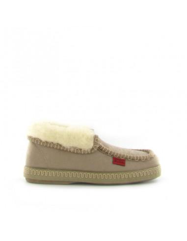 Pantofola chiusa beige