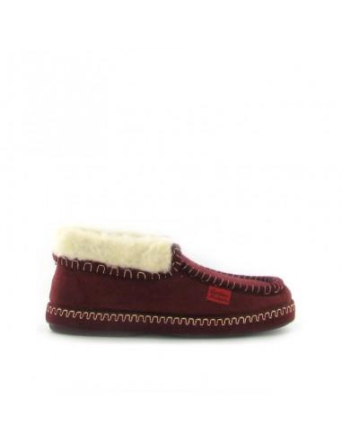 Pantofola chiusa bordeaux