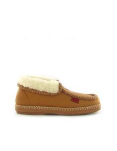 Pantofola chiusa camel