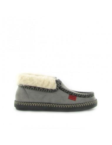 Pantofola chiusa grigio