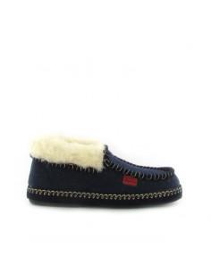 Pantofola chiusa blu