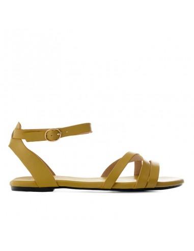 Sandalino senape con cinturino