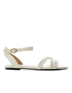 Sandalino bianco con cinturino