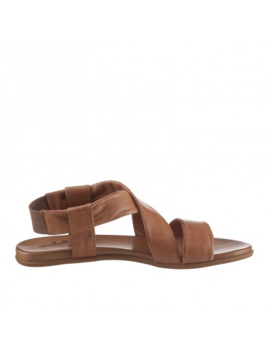 Sandalo in pelle cuoio