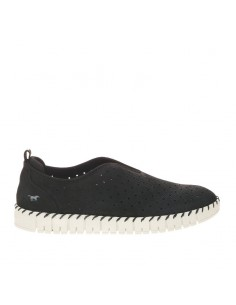 Slip-on nera Mustang Shoes